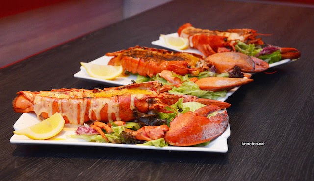 Affordable Canadian Lobsters @ Manhattan Fish Market New Menu