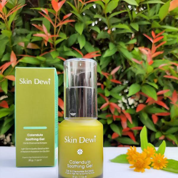 Review Skin Dewi Calendula Soothing Gel
