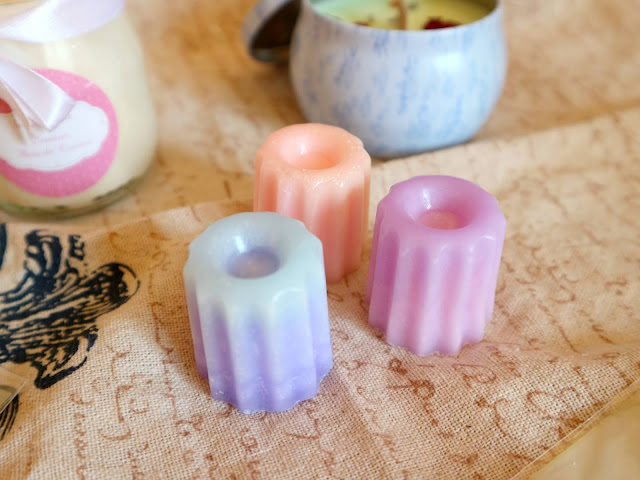 Les fondants de chez Fairy Candle et leurs jolis dégradés de couleur !