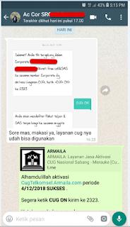 Testimoni CUG Telkomsel Kartu Pasangan Kartu Komunitas Kartu Soulmate Kartu Couple 4 Desember 2018
