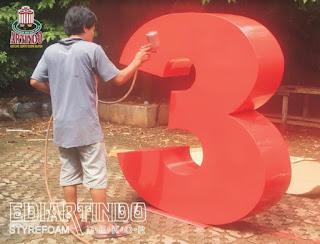 jasa Pembuatan Logo 4D Angka 30