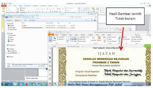 CARA MENGECILKAN UKURAN PDF TANPA HASIL PECAH DI COREL DRAW X7