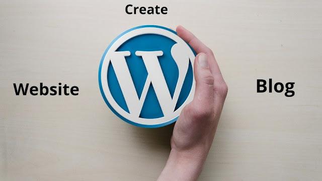Create a WordPress website or blog