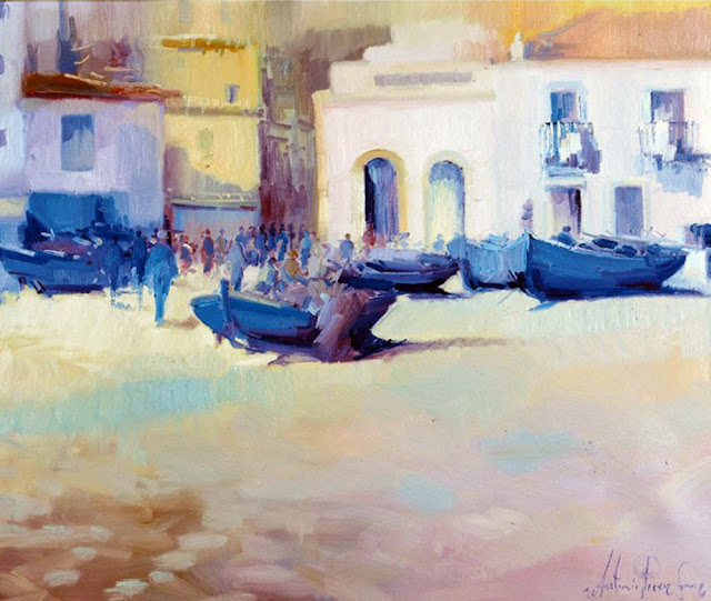Antoni Pérez Sanz, Paisajistas españoles, Pintor Español