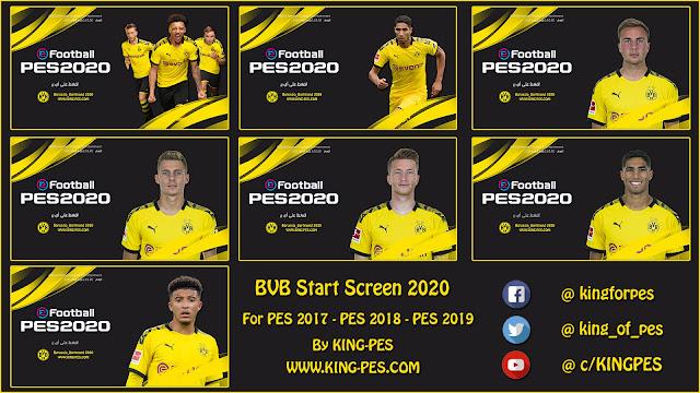 Borussia Dortmund Star Screen Pack For [ PES 17 - PES 19 ]