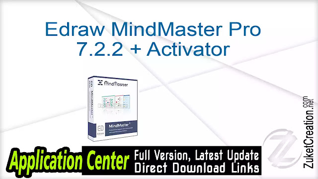 Edraw MindMaster Pro 7.2.2 + Activator