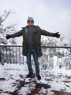 Topo do Cerro Campanario em Bariloche