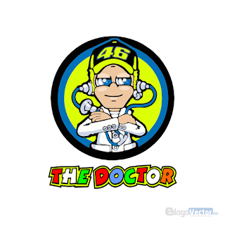Valentino Rossi The Doctor Logo vector (.cdr)