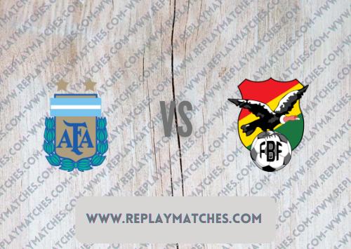 Argentina vs Bolivia -Highlights 10 September 2021