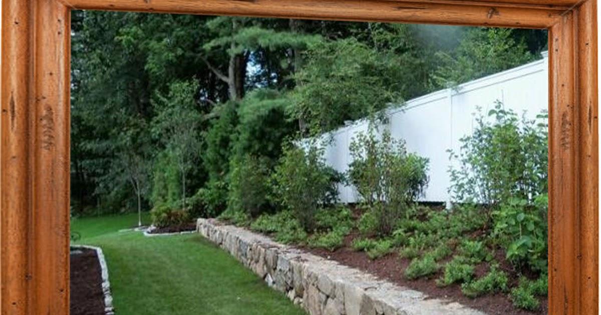 Landscape Ideas Along Fence Line | Landscape Ideas Tutorial Download