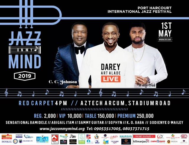 EVENT: International Jazz Festival Hits Port Harcourt With JazzOnMyMind 2019
