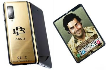 Samsung Galaxy Fold at 399$ with Escobar Fold 2 Logo