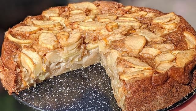 recette, gâteau, invisible, aux pommes, un jour une recette, video