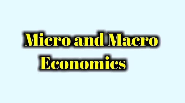 Explain, Difference between microeconomics and macroeconomics
