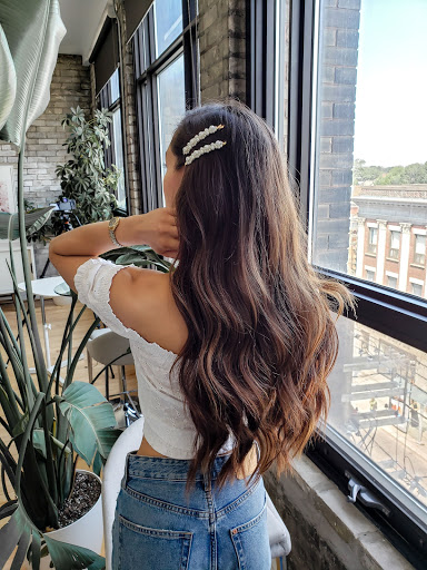 Peinado bonito con ondas