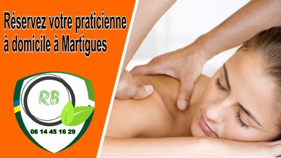 Réservez votre praticienne à domicile à Martigues;
