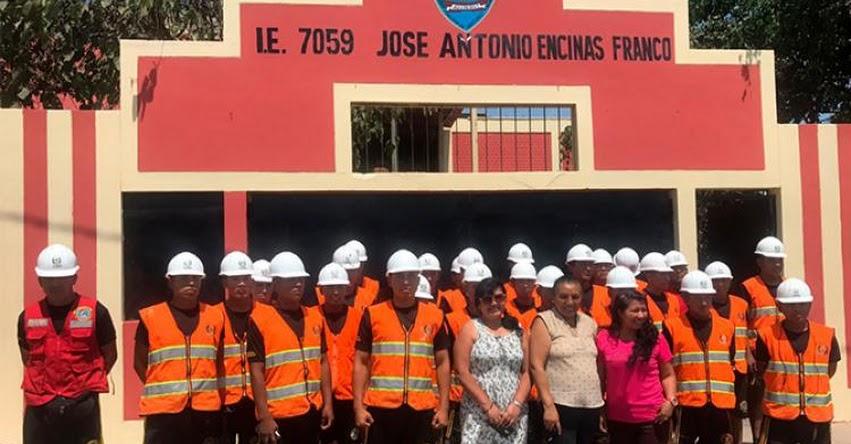 Colegios de cono sur de Lima también reciben mantenimiento, gracias al apoyo del Ejército Peruano - www.ejercitodelperu.mil.pe