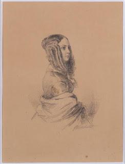 Franz-Xaver Winterhalter - Louise Colet -Versailles.
