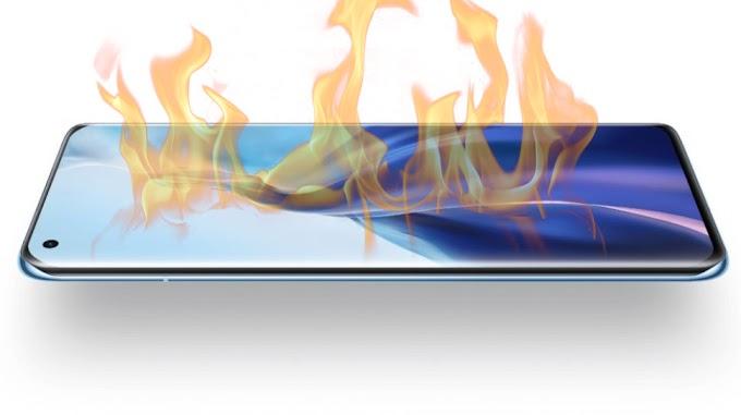 Overheat Test Xiaomi Mi 11