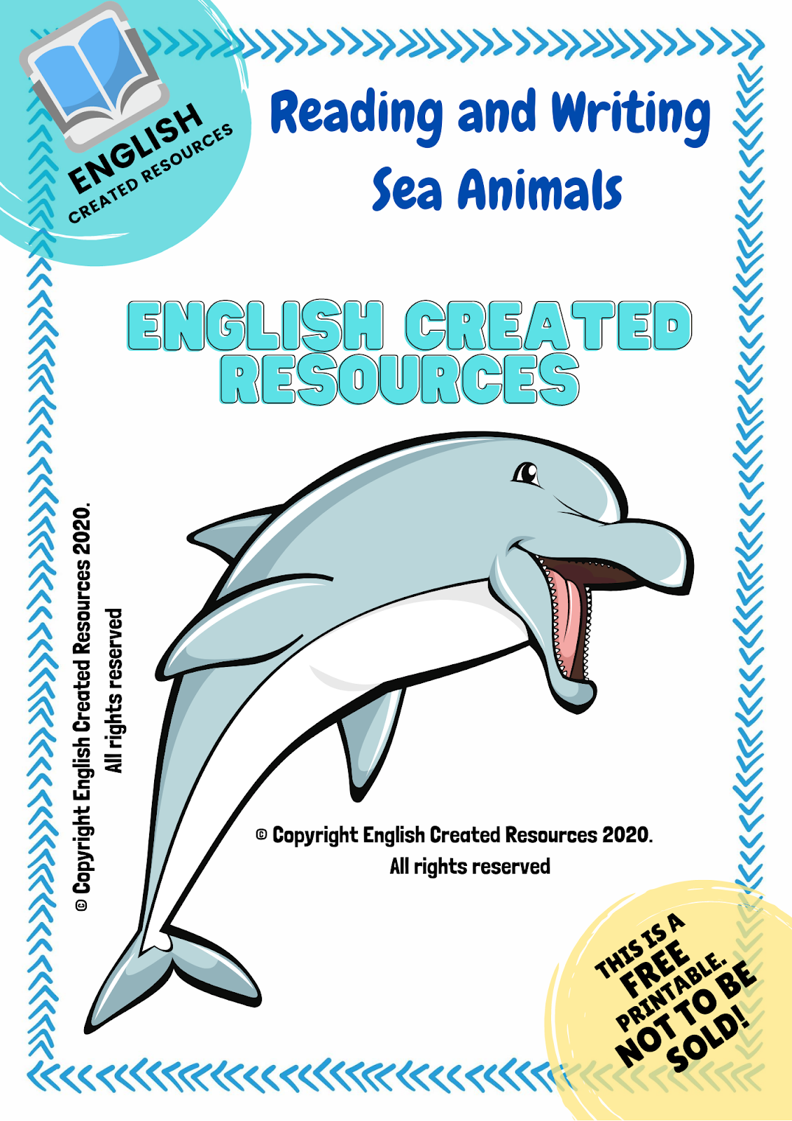 Sea Animals Reading And Writing Worksheets