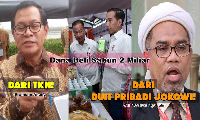 Dana Beli Sabun 2 Miliar: Anung Bilang dari TKN, Ngabalin Sebut Duit Pribadi Jokowi