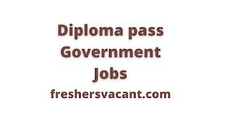 diploma government jobs