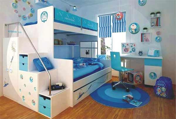 Kamar Untuk Anak Anak Dengan Dekorasi Doraemon Menarik Kamar Untuk Anak Anak Dengan Dekorasi Doraemon Menarik