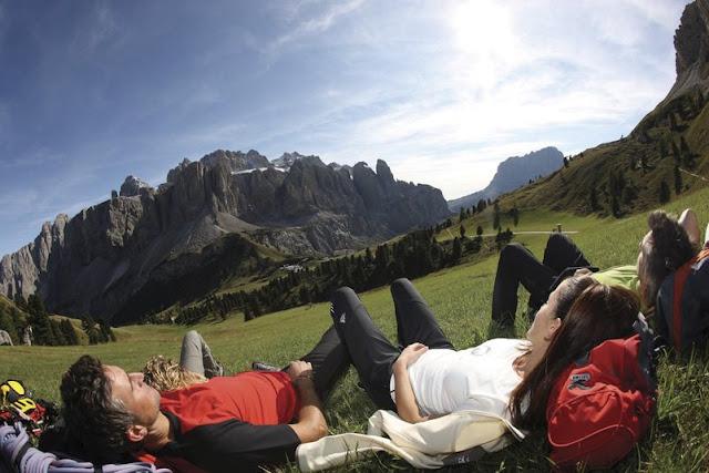In sich kehren und die Ruhe der Südtiroler Berge genießen...