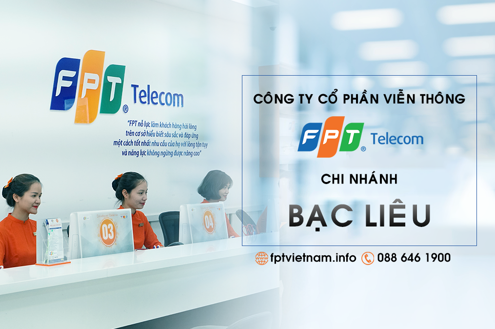 FPT Bạc Liêu: 43B đường Trần Huỳnh, phường 7, Thành phố Bạc Liêu, Bạc Liêu