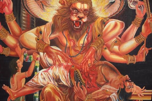 भगवान विष्णु के नरसिंह अवतार की कथा, Bhagwan vishnu ka narsingh avtar ki katha
