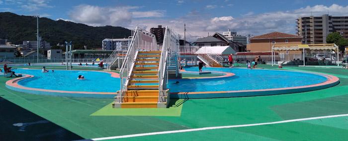 田宮公園プール 流れるプール