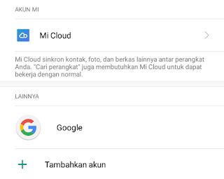 pilih akun google