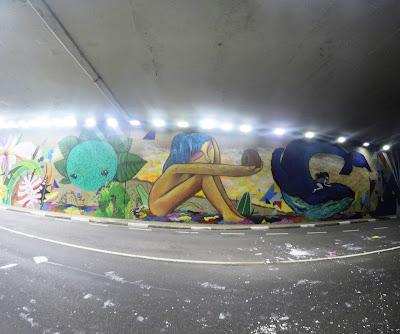Túnel Noite Ilustrada - Corrida de Rua - São Paulo