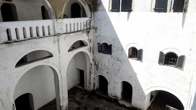 Elmina castle in Ghana is a architectural masterpiece