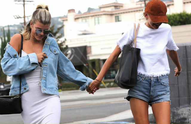 Sofia Richie and Bronte Blampied