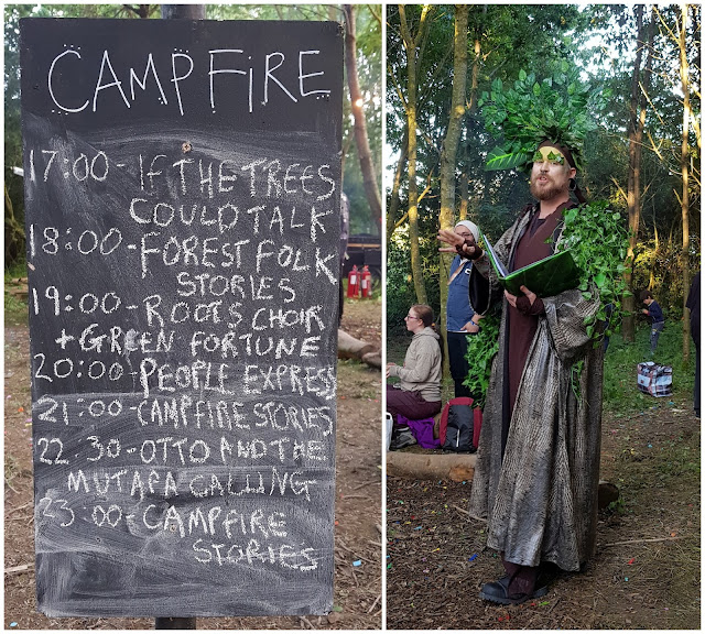 Listings for campfire entertainment and People Express LGBT+ performance
