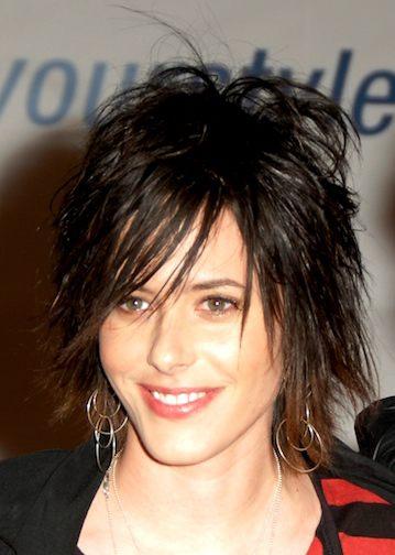 Amazing Top Celebrity Fashion Emo Punk Hairstyle For Women Celebrity Punk Short Hairstyles Gunalazisus
