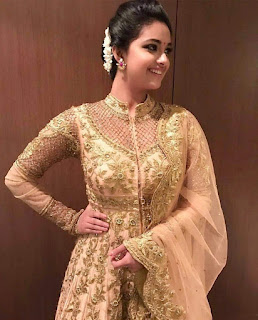 Keerthy Suresh with Cute and Chubby Cheeks Smile