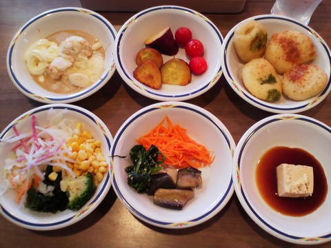 健康サラダバーランチ¥647-3 ステーキガスト一宮尾西店13回目