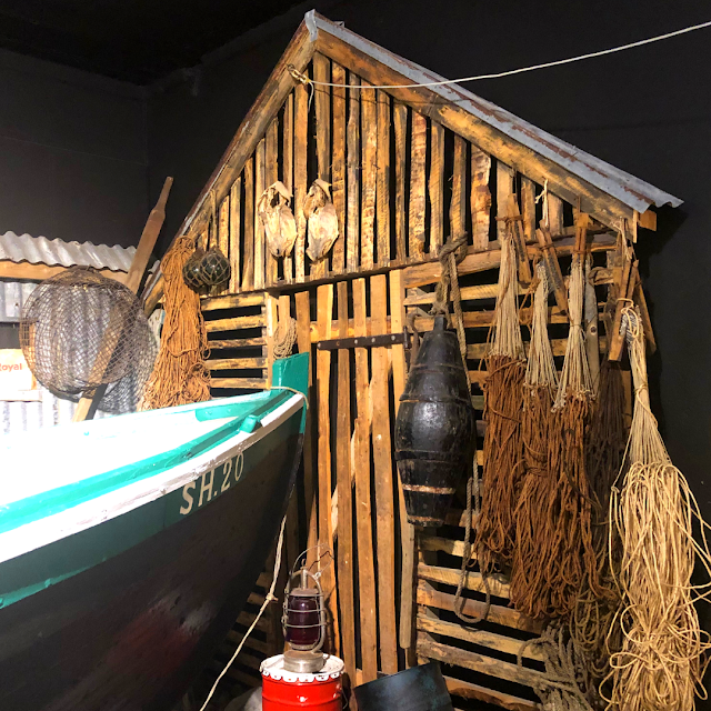 Exhibit on fishing at Kaffi Emil.