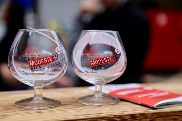 Antwerp, Modeste beer festival