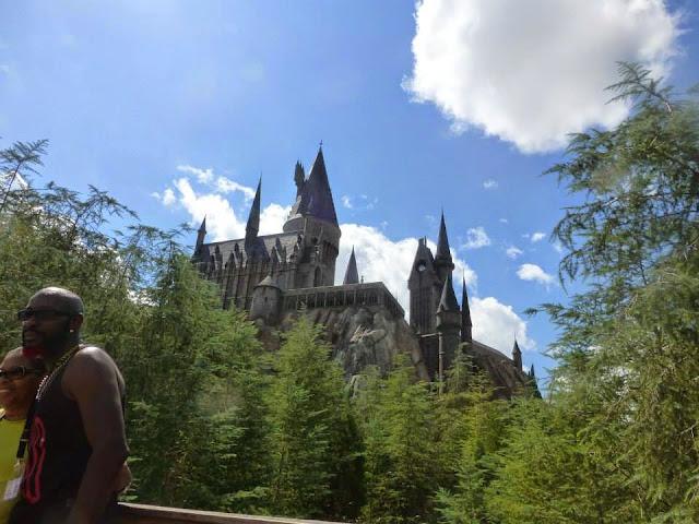 Hogwarts School Universal Studios