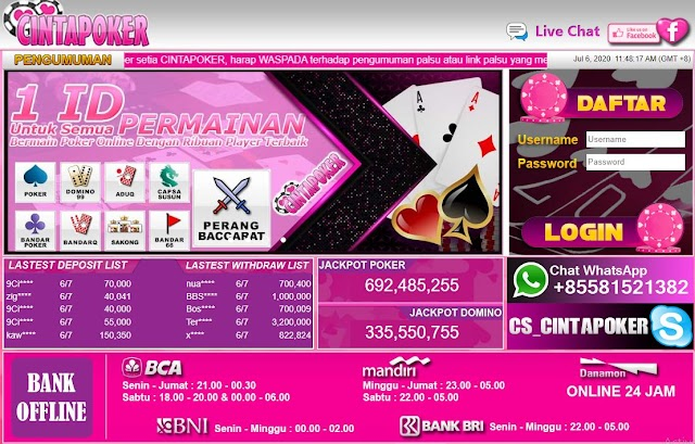 Link Alternatif Cinta Poker | Alternatif Link Cinta Poker | Situs Berita Pkv Games