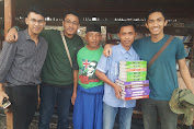 Usai Berbagi Mushaf, SMS Akan Santunan Yatim di Berugak Buku
