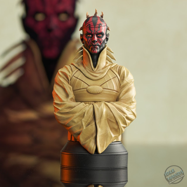 SDCC 2021 Gentle Giant Exclusive Star Wars Darth Maul Concept 6th Scale Bust