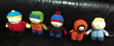 Free South Park crochet pattern