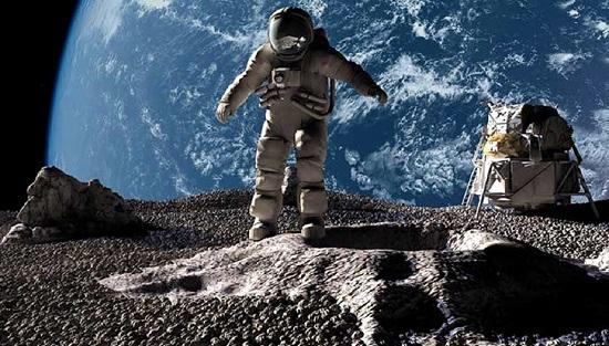 Chuyện gì xảy ra nếu một người ngã từ độ cao của tòa nhà 9 tầng trên Mặt Trăng?