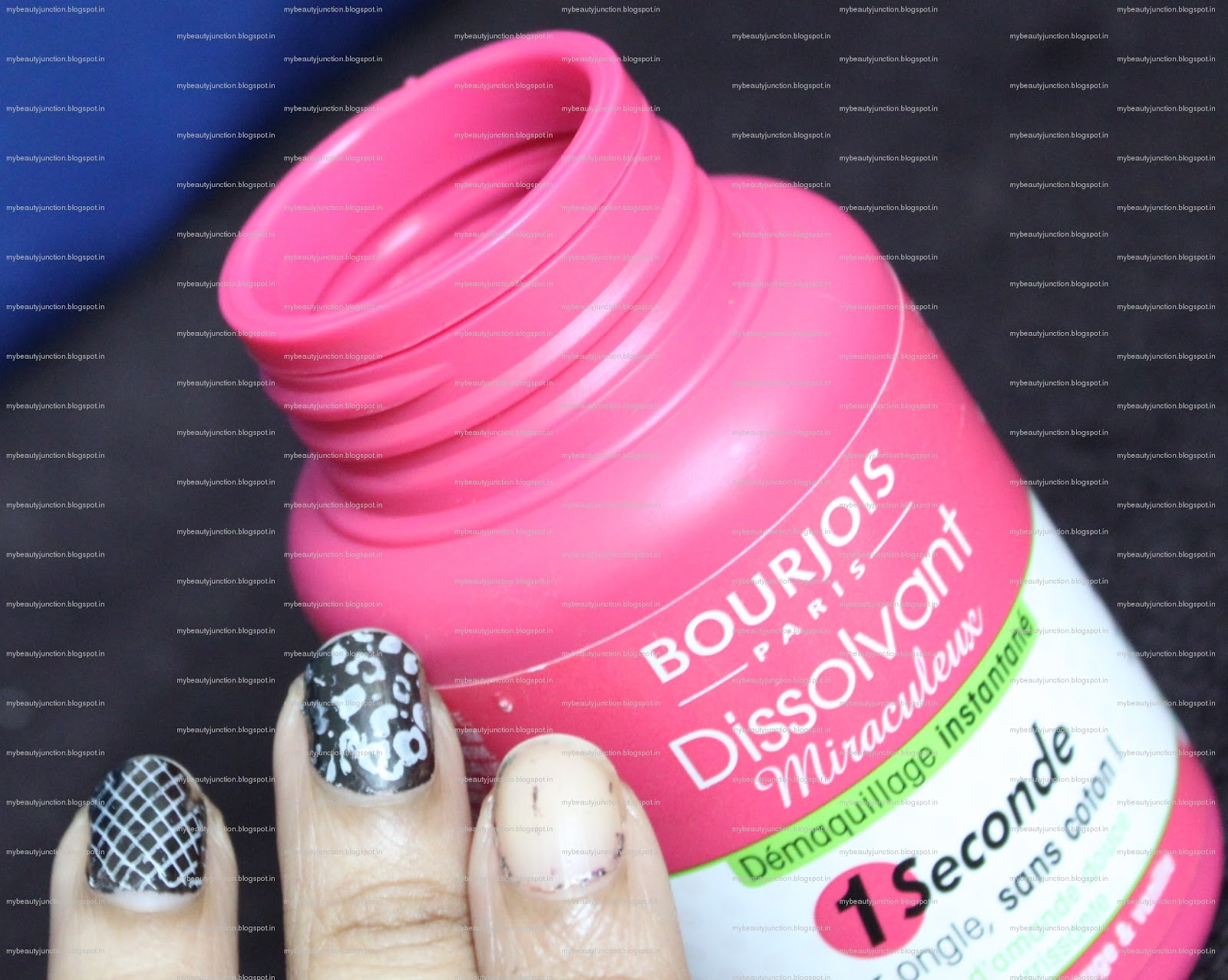 Bourjois One Second Magic Nail Polish Remover review