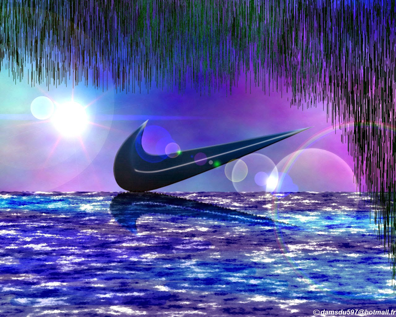 Wallpapers For Cool Blue Nike Logo Wallpaper Fashion S