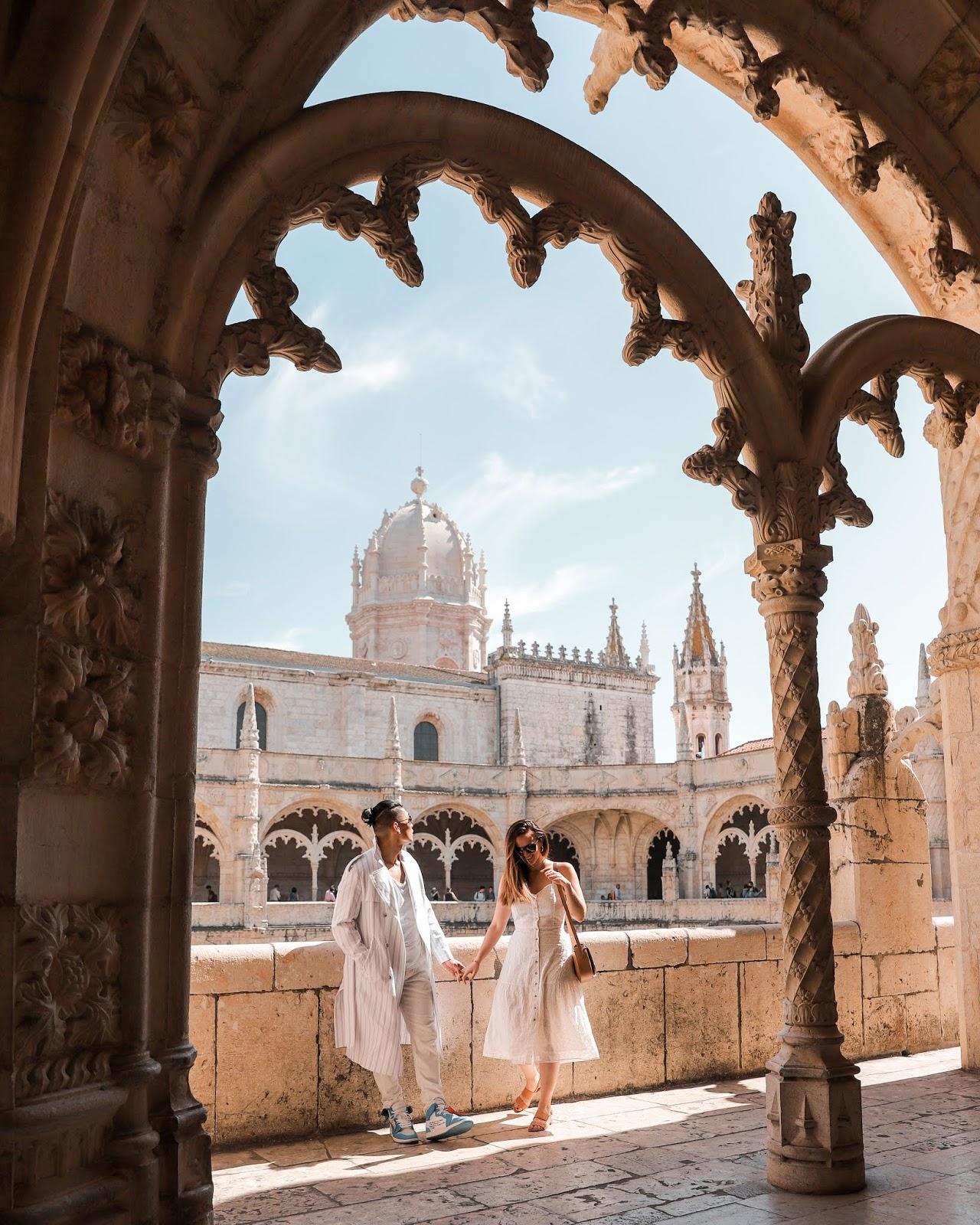 Leo Chan Alicia Mara at Jerónimos Monastery | Tips and Tricks